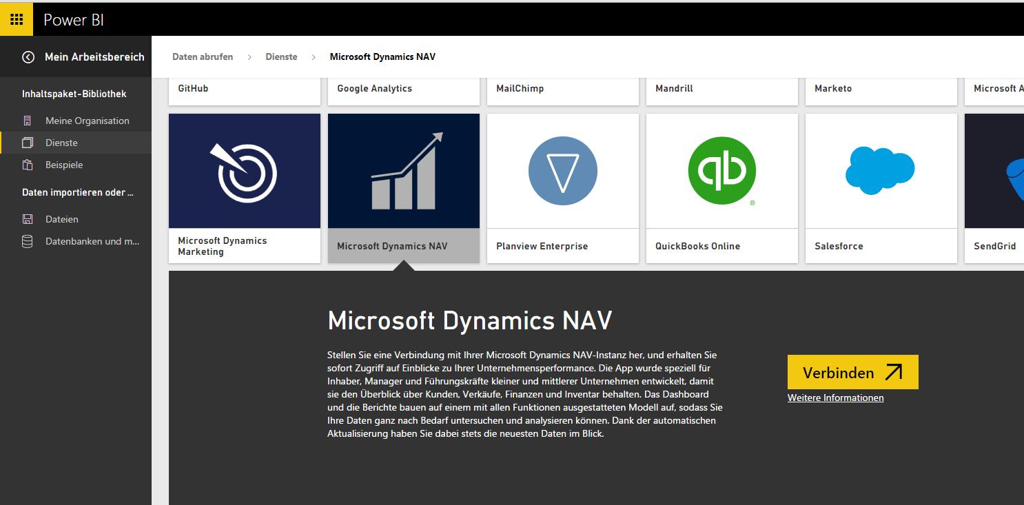 Dynamics NAV Power BI kl