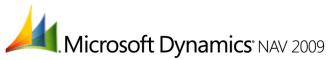 Dynamics NAV 2009