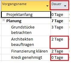 Projektplan mit MS Project (4)
