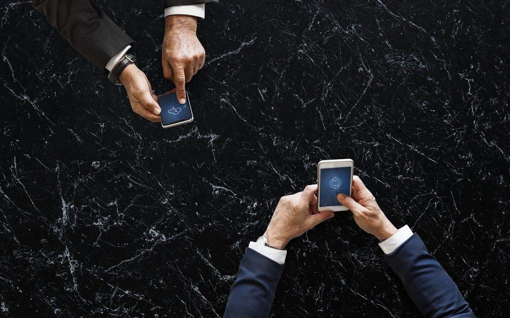 Datenaustausch zwischen zwei Nutzer