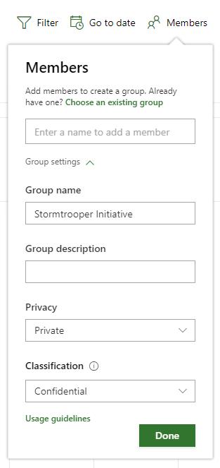 Microsoft Project Roadmap Group Share