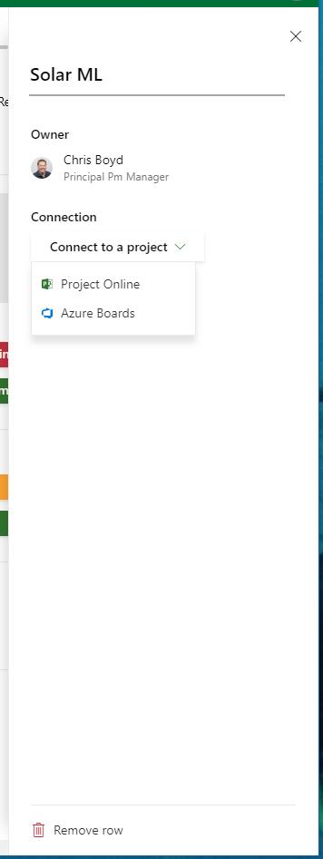 Microsoft Project Roadmap New Row