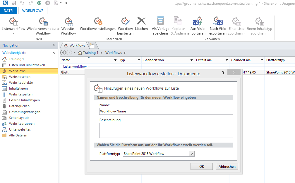 SharePoint Workflow in 10 Schritten - Bild 2