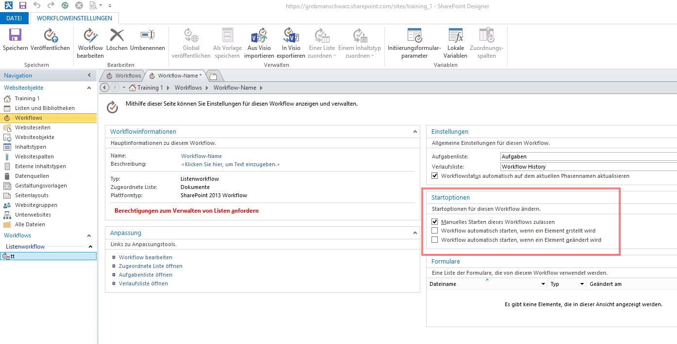 SharePoint Workflow in 10 Schritten - Bild 4